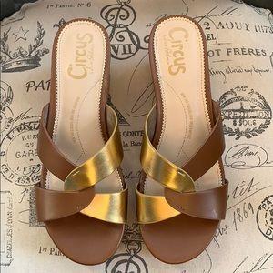 Circus Sam Edelman wedge cork sandals